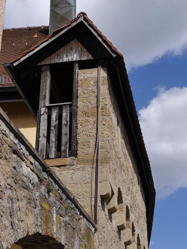 Wehrgang beim Badturm